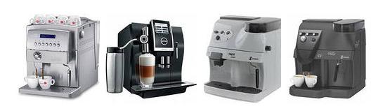 Кофемашины автоматические. Виды автоматических кофемашин