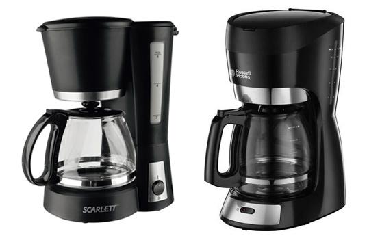 Выбираем кофеварку - капельные кофеварки