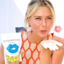 Марина Шарапова берется за продажу конфет в России