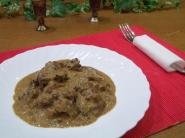 Бефстроганов из говядины, пошаговый рецепт с фото
