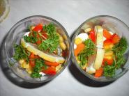 Холодец из говядины в бокалах, пошаговый рецепт с фото