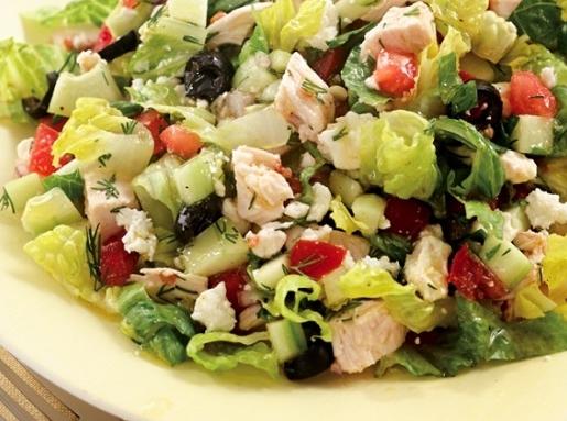 Готовим вкусный салат с курицей
