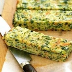 Рецепт омлета с зеленью
