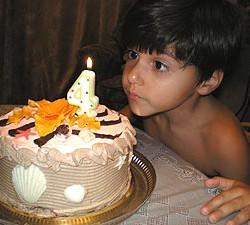 Именинный торт для детей