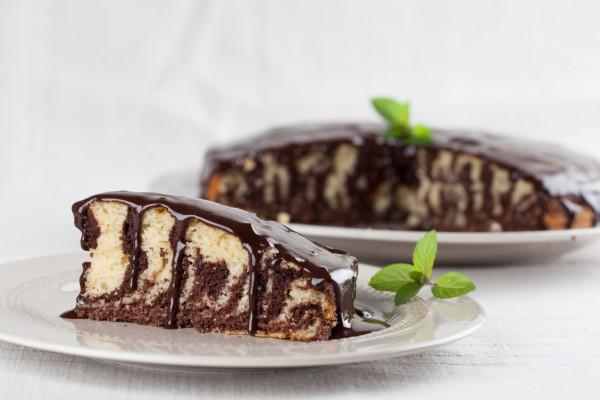 Торт Зебра пошаговый рецепт с фото