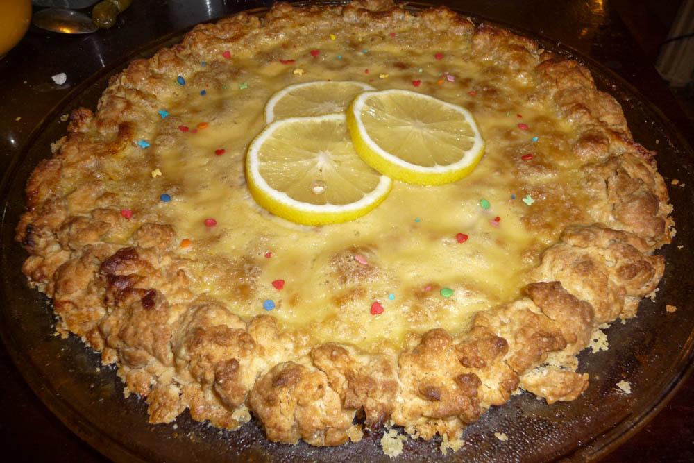 Пирог с арбузом рецепт с фото