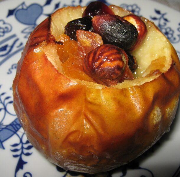 Печеные яблоки пошаговый рецепт