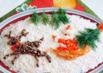 Новогодние рецепты салатов