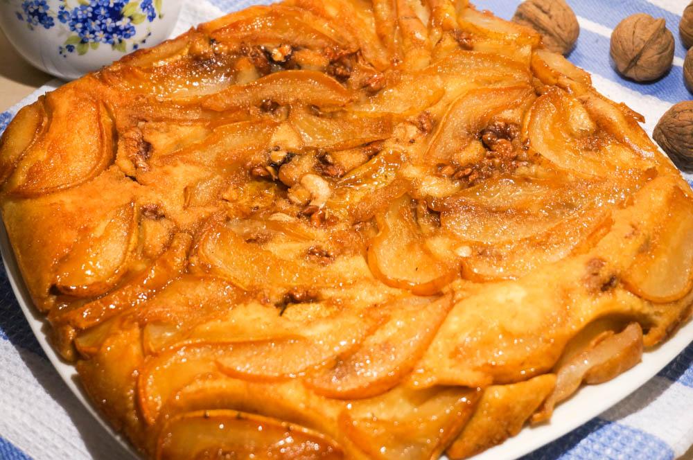 С грушами рецепт с пошагово в духовке