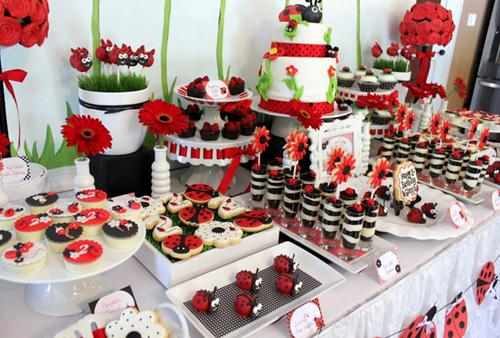 Организация праздника и сладкий стол для детей