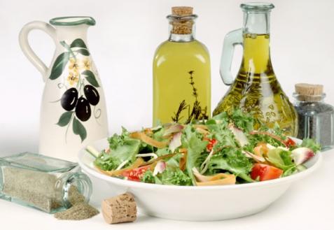 Виды салатов и салатные заправки