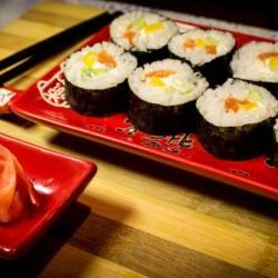 Как и с чем едят суши?