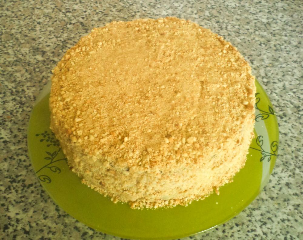 Простой песочный торт в домашних условиях 328