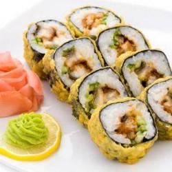 О роллах, суши, соусах и доставке на дом