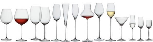 Разновидности бокалов и их использование