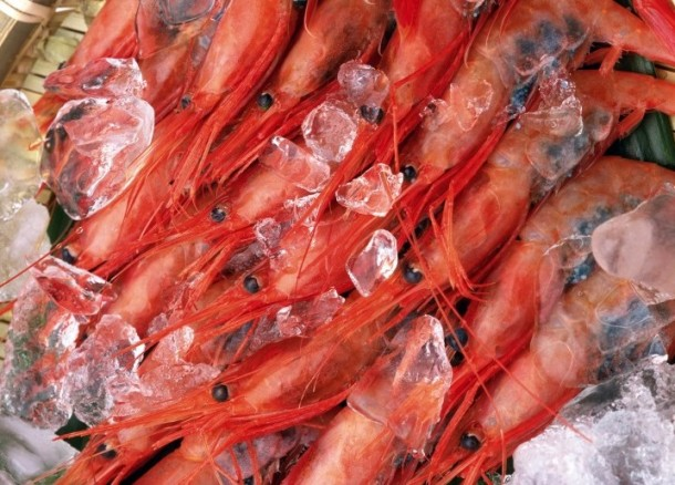 Замороженные морепродукты за месяц до праздника