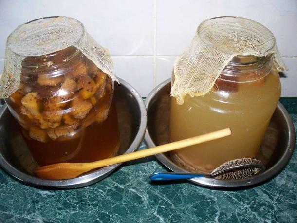 Домашний квас как средство от жажды