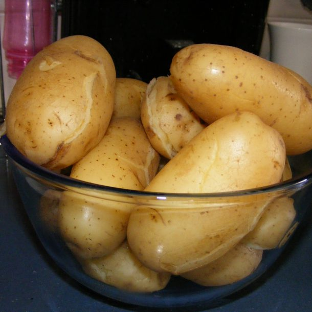 Приготовление полезного картофеля