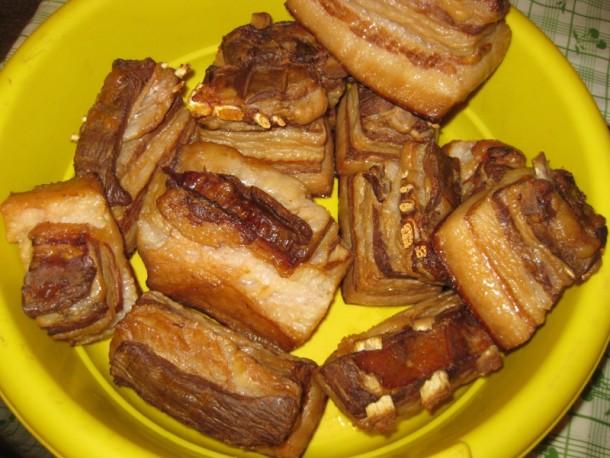 Копченые свиные ребрышки