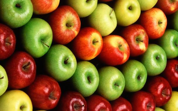В незрелых яблоках больше витаминов