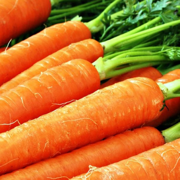 Целая морковь