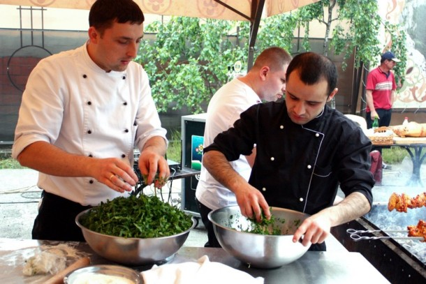 Мастер-класс для кулинаров