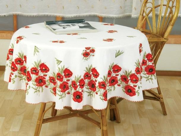 Скатерть для круглого кухонного стола