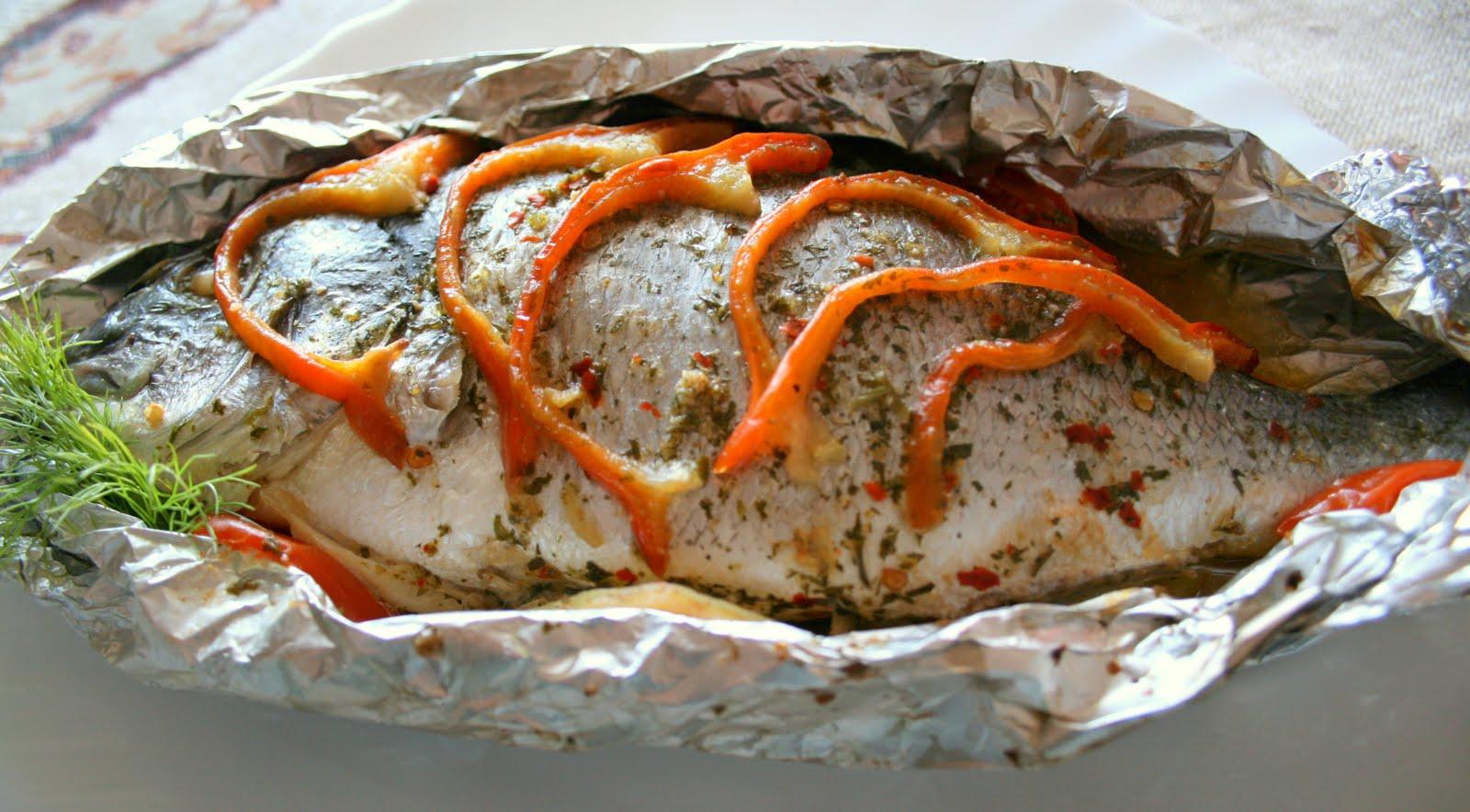 Рыба для запекания в фольге