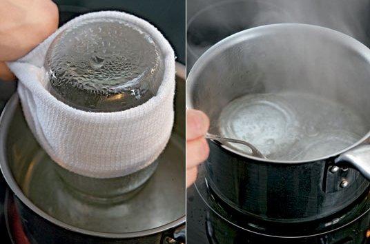 Стерилизация банок и заготовок в домашних условиях