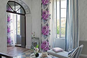 Оформление интерьера шторами