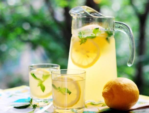Горячий лимонный сок