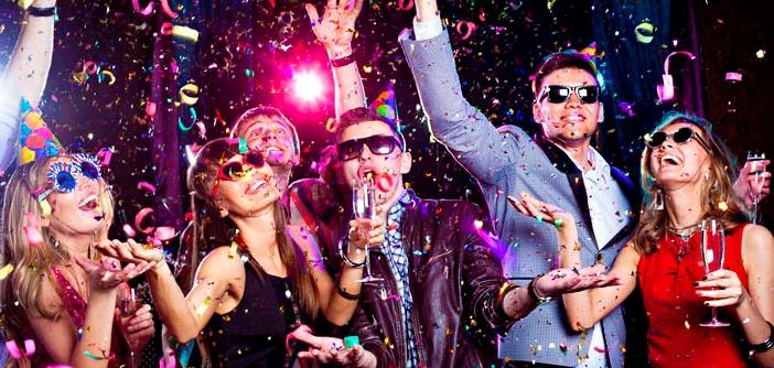 Как организовать интересную новогоднюю вечеринку?