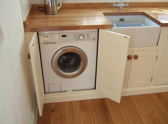 Что спрятано на кухне: выбор и установка стиральной машинки