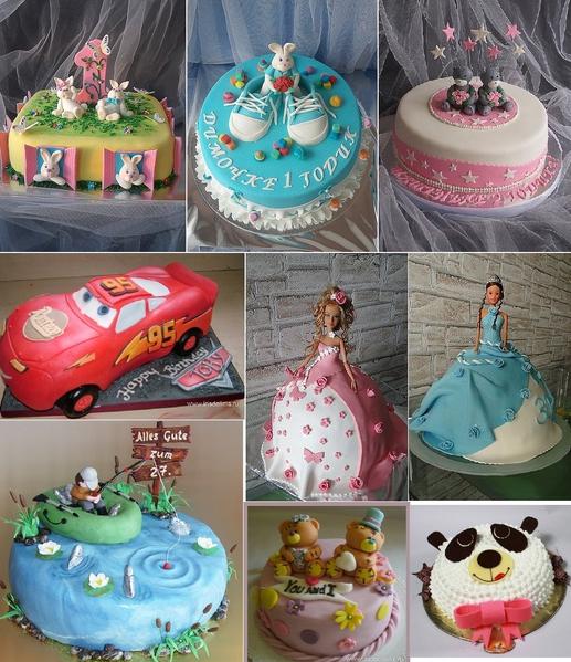 Детские торты на заказ в кургане фото