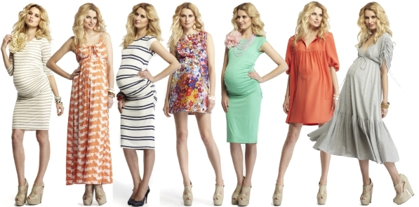 Летний гардероб беременной