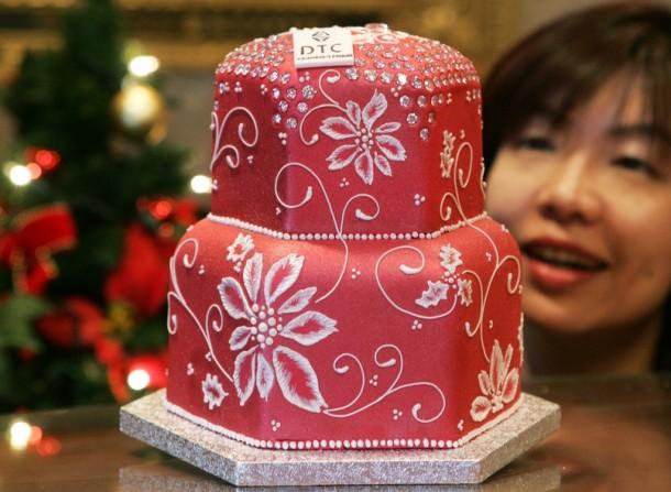 Самые дорогие десерты мира Бриллиантовый торт