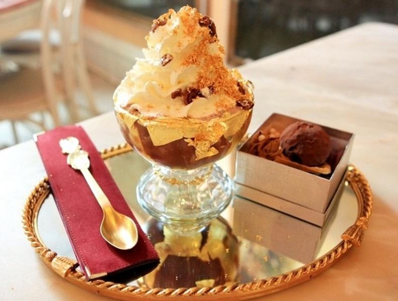 Самые дорогие десерты мира  Десерт Frrozen Haute Chocolate