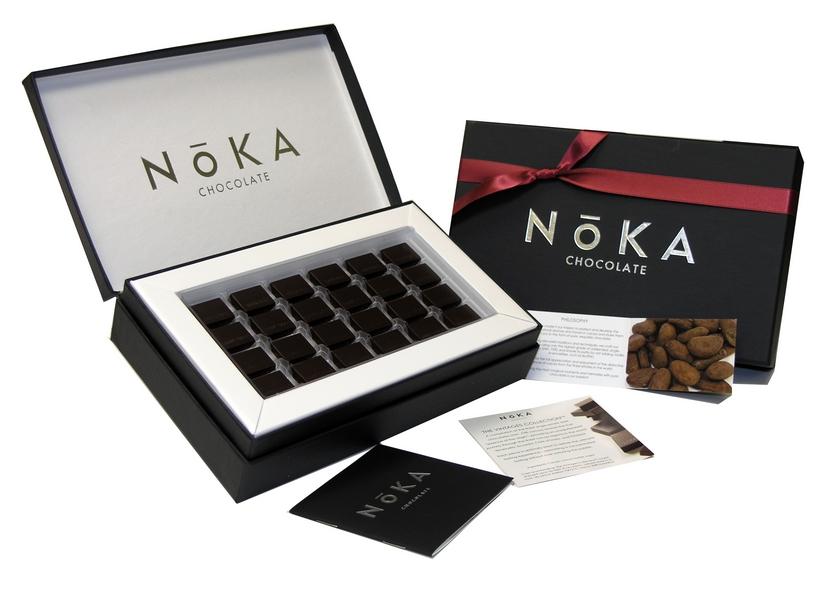 Самые дорогие десерты мира NōKA Chocolate