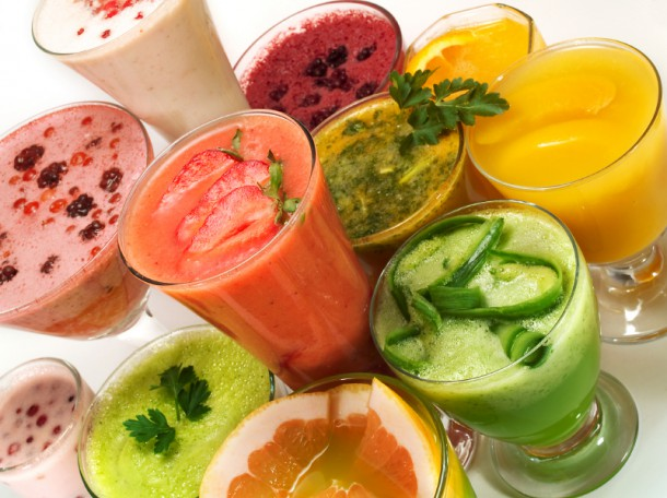 Фреши на любой вкус: из фруктов, овощей, ягод, зелени