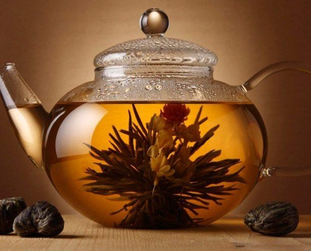Красота и великолепие элитного вязанного чая