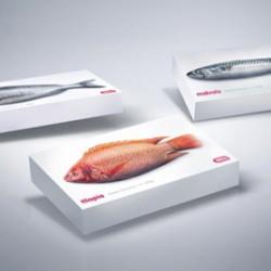 Дизайнеры создали «живую» упаковку для замороженной рыбы