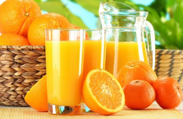 стакан сока – лучший утренний напиток