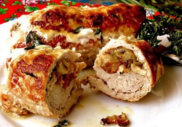 мясные рулетики из свинины в духовке рецепты