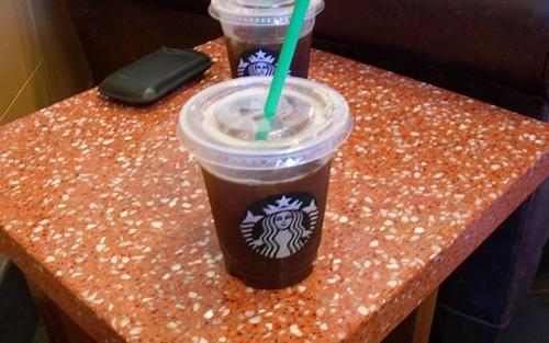 Венти Айсд Кафе Американо (Venti Iced Caffe Americano)