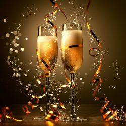 Новогодние бокалы своими руками: быстро и просто