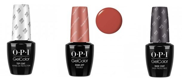OPI GelColor - гелевое покрытие