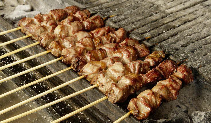 Арростичини Абруццези италия, еда, улица