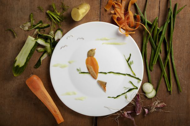 Красивые иллюстрации из продуктов питания