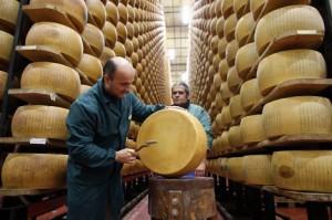Сыр пармезан как главный сыр в Италии