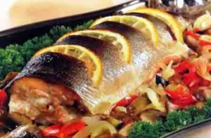 Польза запеченной рыбы